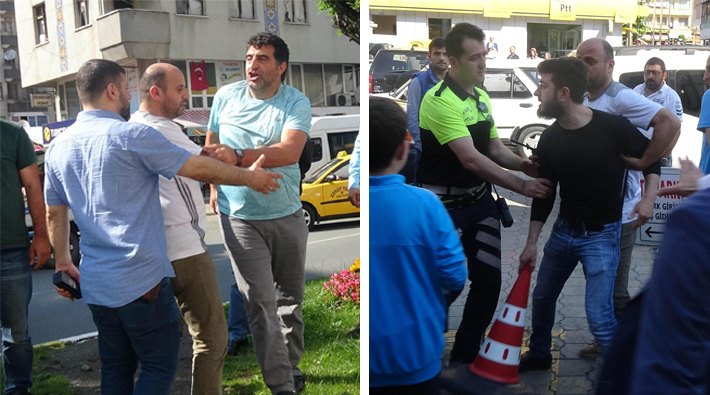 Opposition group attacked by gov't supporters during local protest
