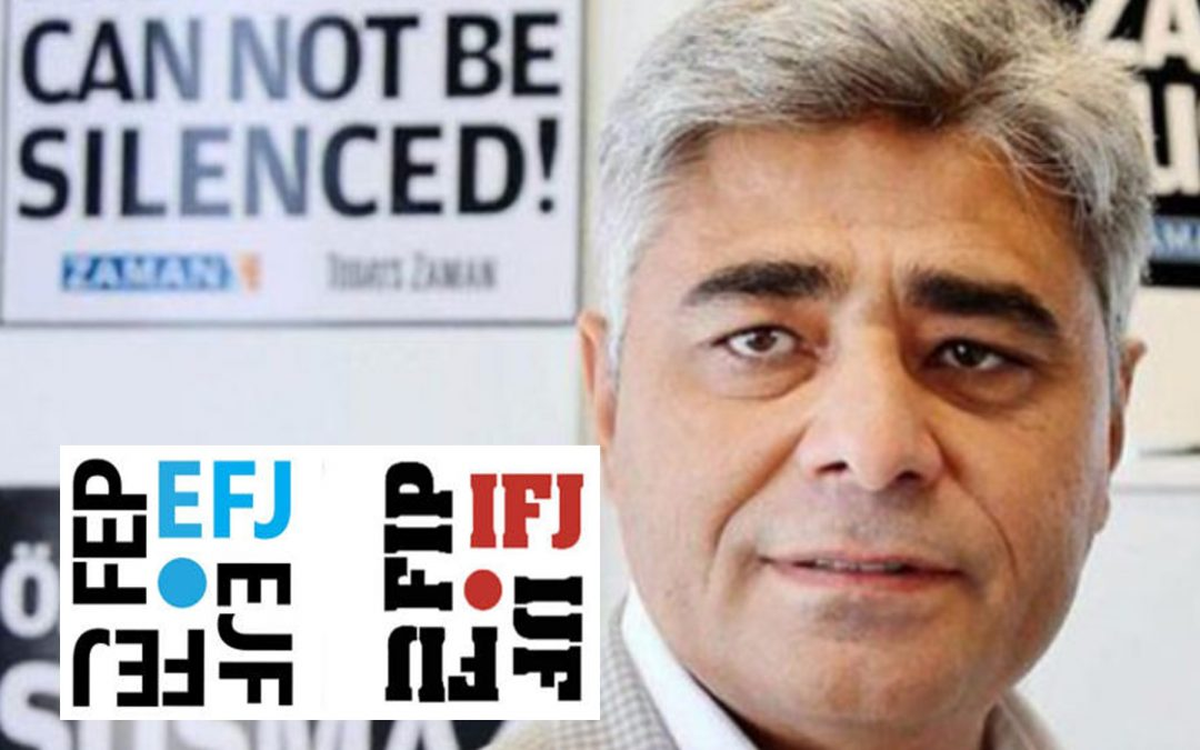 IFJ- EFJ say concerned over arrested journalist's health, urging medical care