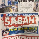 Pro-gov't Sabah daily sets up hotline to profile Gulenists in Europe