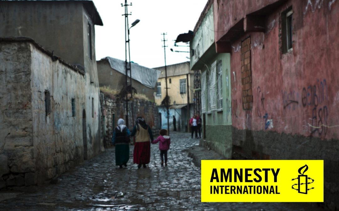 Amnesty says hundreds at imminent risk of forced eviction in Diyarbakir's Sur