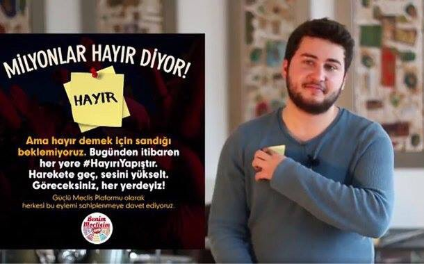 Weeks after his popular anti-Erdogan video, 21-year-old student gets 2-year suspended sentence