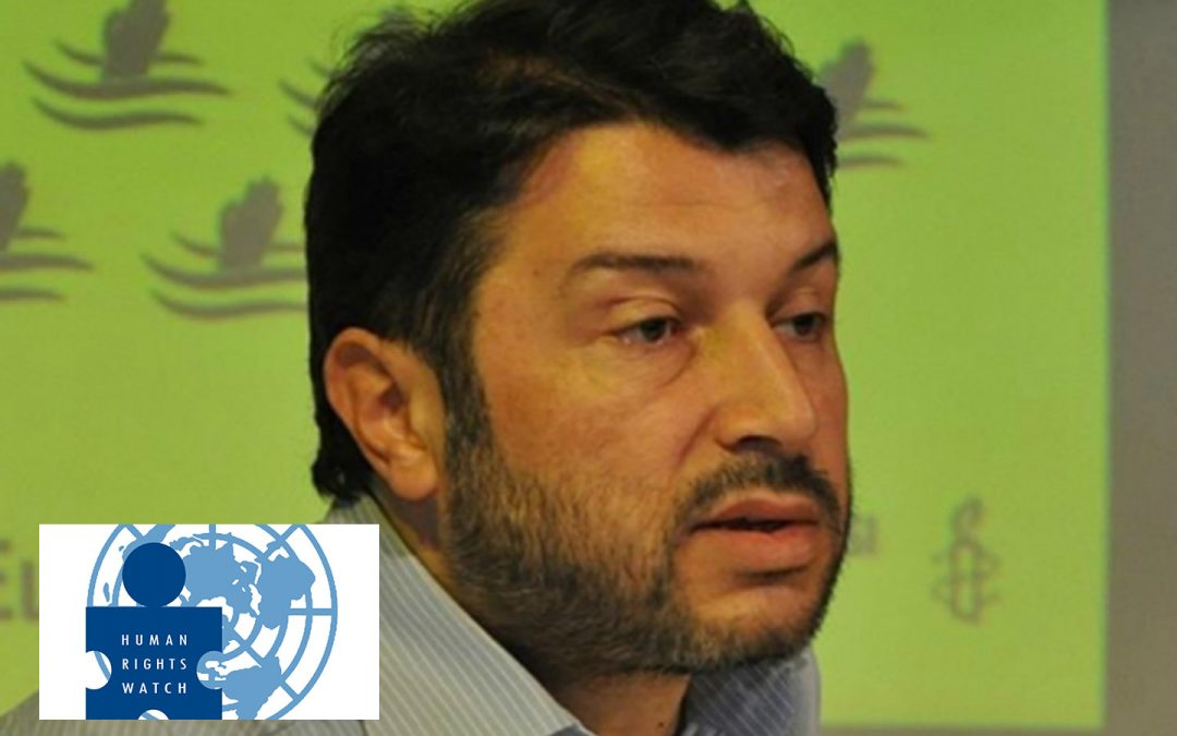 Human Rights Watch urges Turkey to release Amnesty's country head