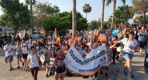 Across the US, marches and rallies in support of LGBT rights