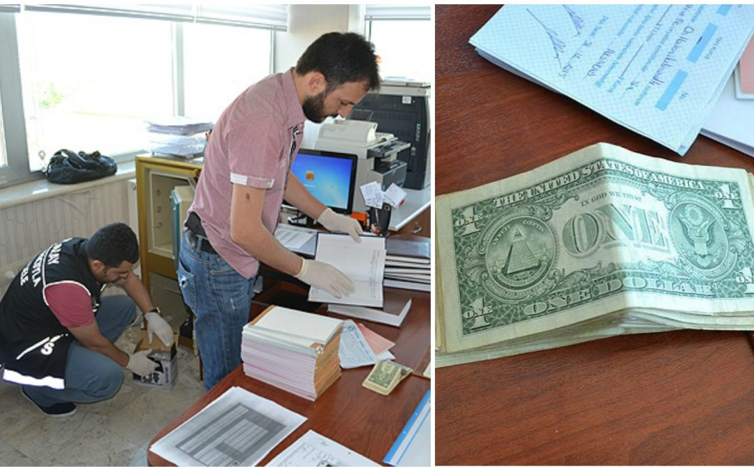 Police raid dialysis center, confiscate $1 bills as terror evidence