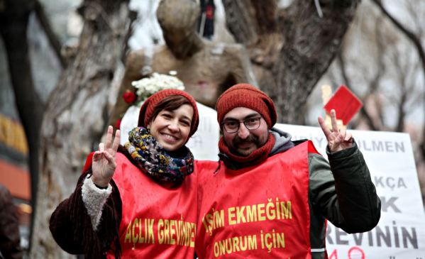 Lawyer: Imprisoned hunger strikers Gülmen and Özakça facing heart failure