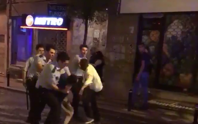 WATCH: Video shows police slam, beat two İstanbul men