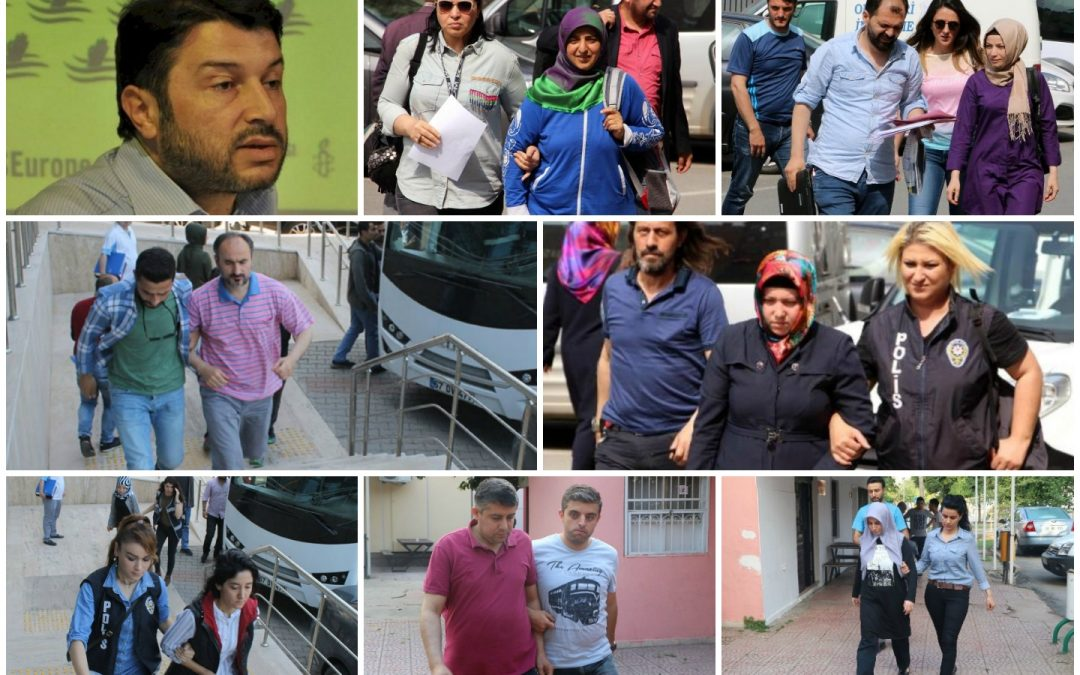 Ministry: 386 Gülenists detained over past week