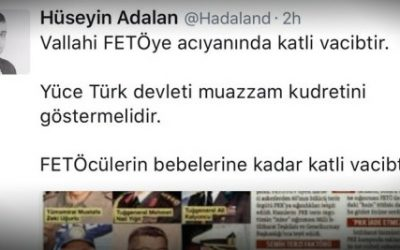 Pro-gov't columnist: Killing Gülenists, even their babies, a religious obligation