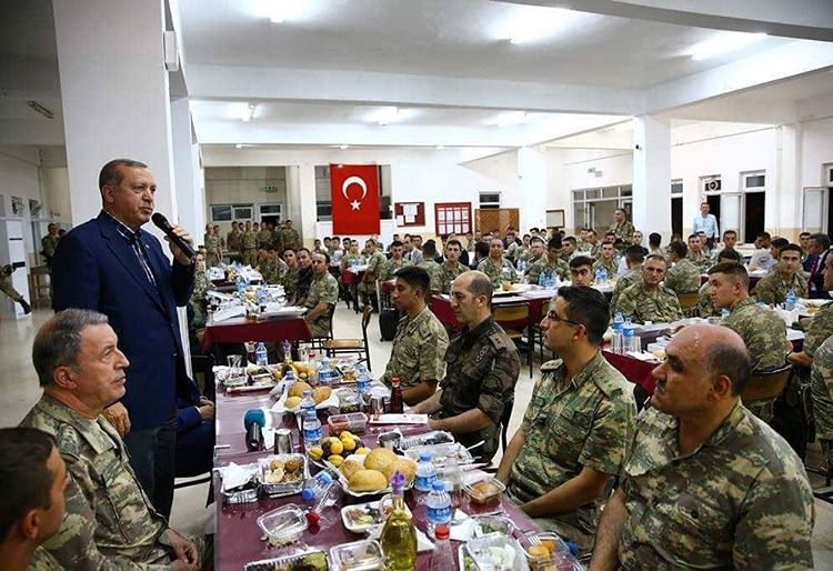 7,655 dismissed from Turkish military since failed coup: official data