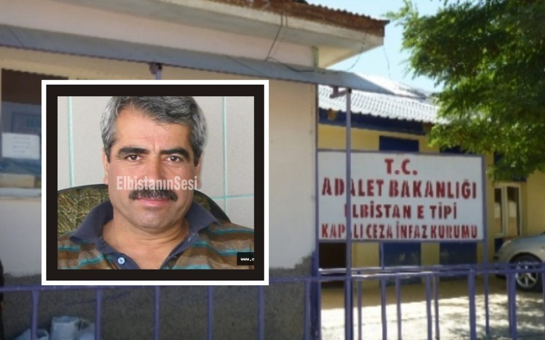 61-year-old businessman dies from poor conditions in Elbistan prison