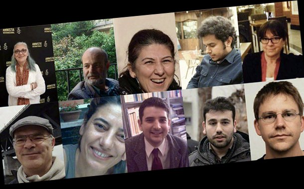 Turkey reissues warrant for 4 activists after release
