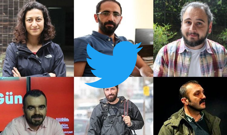 Journalists' following lists on Twitter among terror evidence