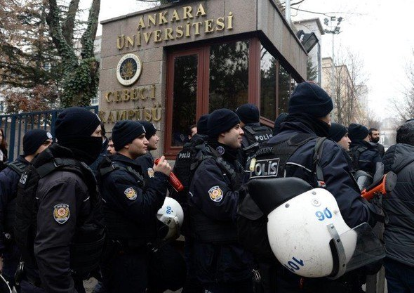 Another 31 academics, university personnel detained in Turkey's capital