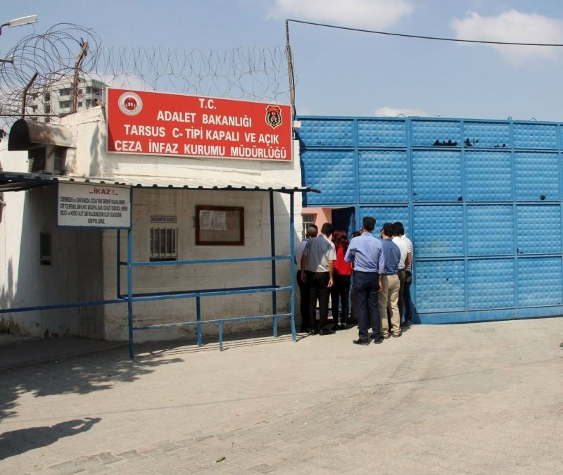 Man detained while visiting relative in Mersin prison