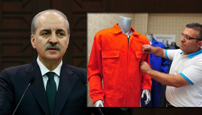Gülenists to appear in courts in special uniforms, Turkish Deputy PM says