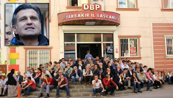 Prosecutor files motion against Kurdish deputy for 'sitting in front of party office'