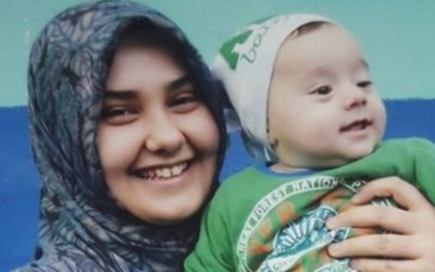 'My 5-month old son is slowly going blind in prison,' says jailed mother