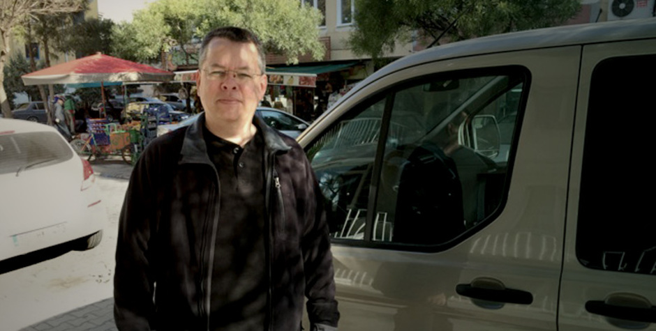 US pastor Andrew Brunson charged with attempt to destroy constitutional order in Turkey