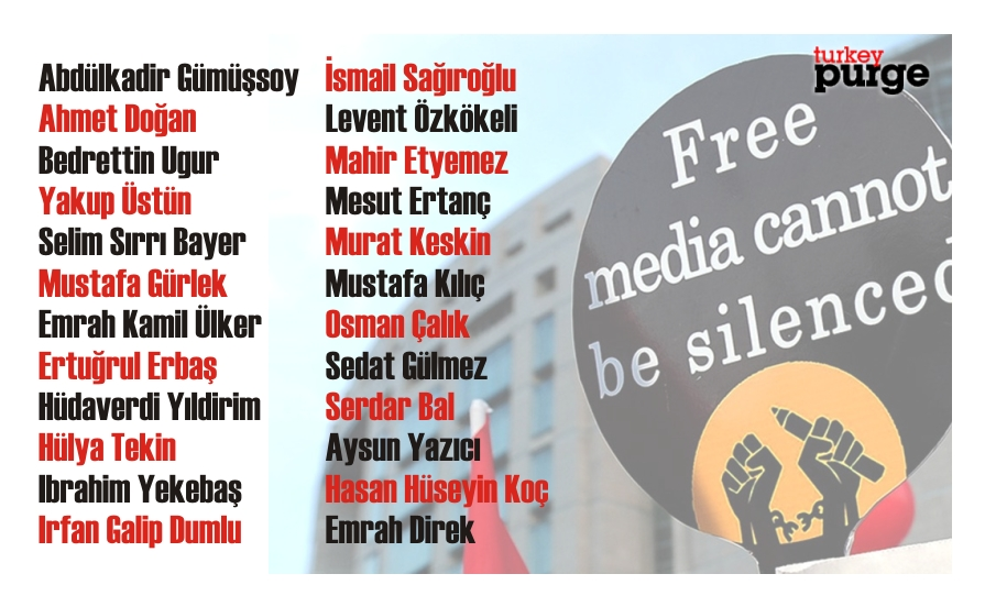 Turkish police seek 24 journalists on coup charges: report