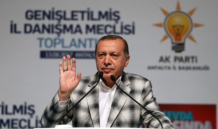 Turkish president now calls for witch-hunt within his own party