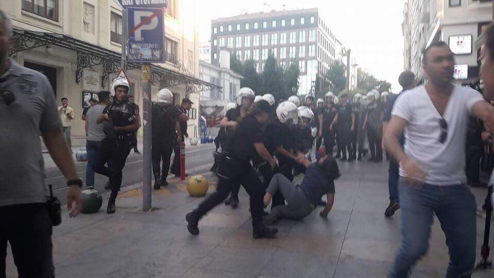 Police break arm of Gezi Park victim's mother while detaining her