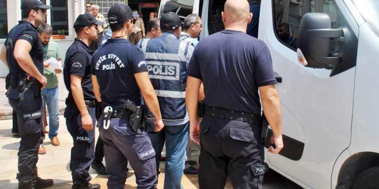 Dismissed policeman detained while applying to post-coup rights commission