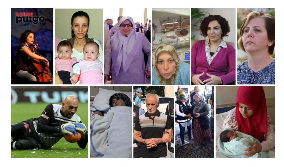 TURKEY PURGE IN PAST 30 DAYS: 922 dismissed, 1711 detained, 998 jailed over coup charges