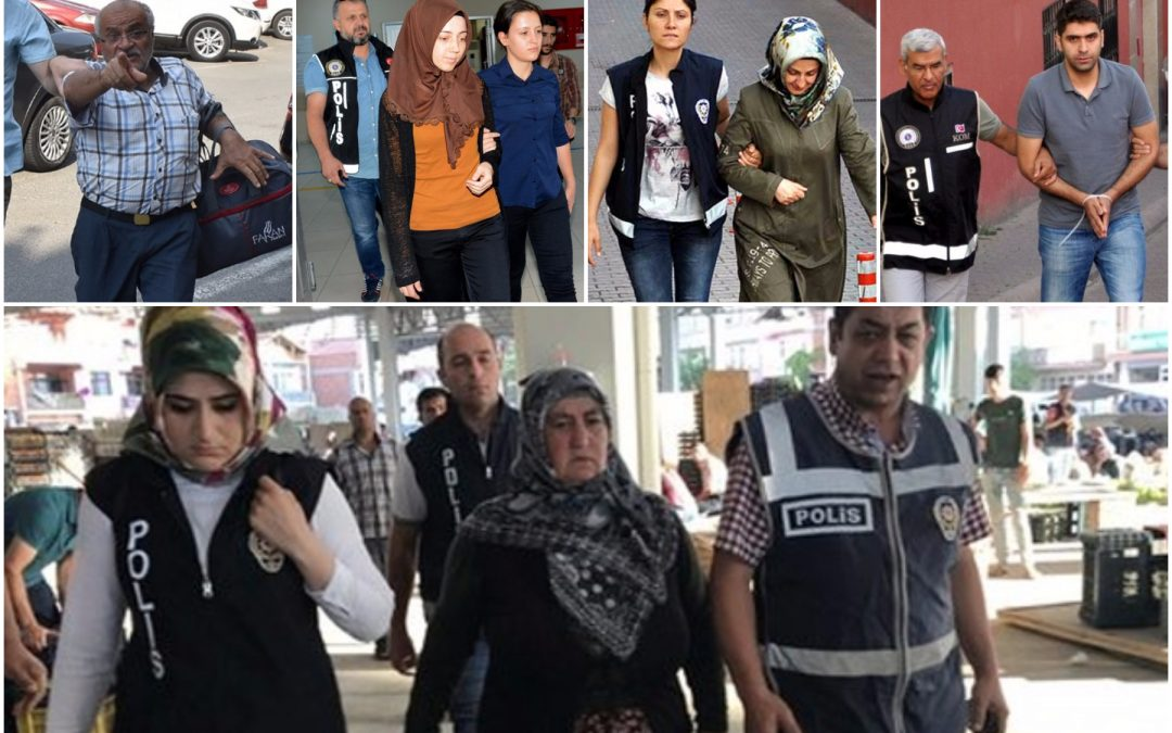 267 detained in operations against Gülen movement last week