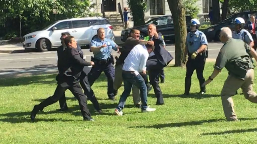 Three more Erdogan bodyguards indicted over wild USA brawl