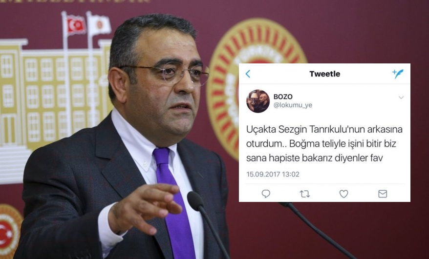 Turkish academic on same plane as opposition deputy tweets about strangling him