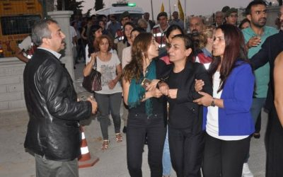 Nationalist mob attacks funeral for Kurdish deputy's mother, body unearthed