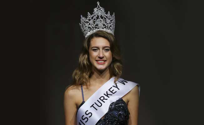 Miss Turkey stripped of her crown over anti-Erdogan comment