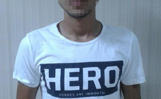 17-year-old under police custody over hero T-shirt