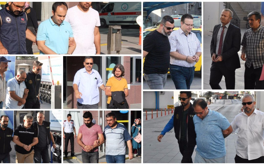 Konya police detain 11 businessmen in post-coup probe