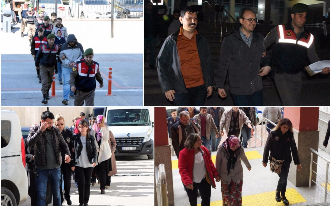 643 detained over alleged Gülen links in past week: ministry