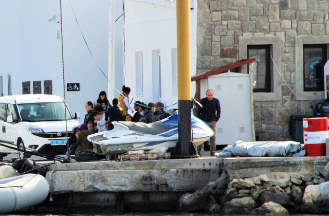 [VIDEO] 13 children, 17 others detained while fleeing to Greek island of Kos