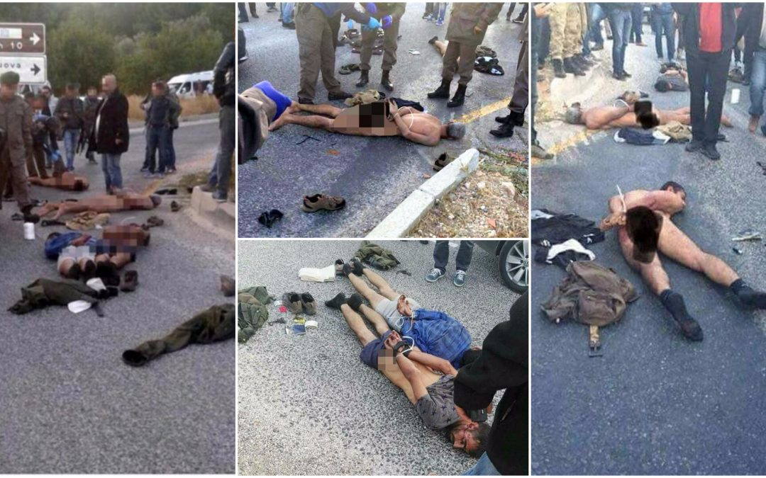 7 stripped naked during detention in anti-PKK operation