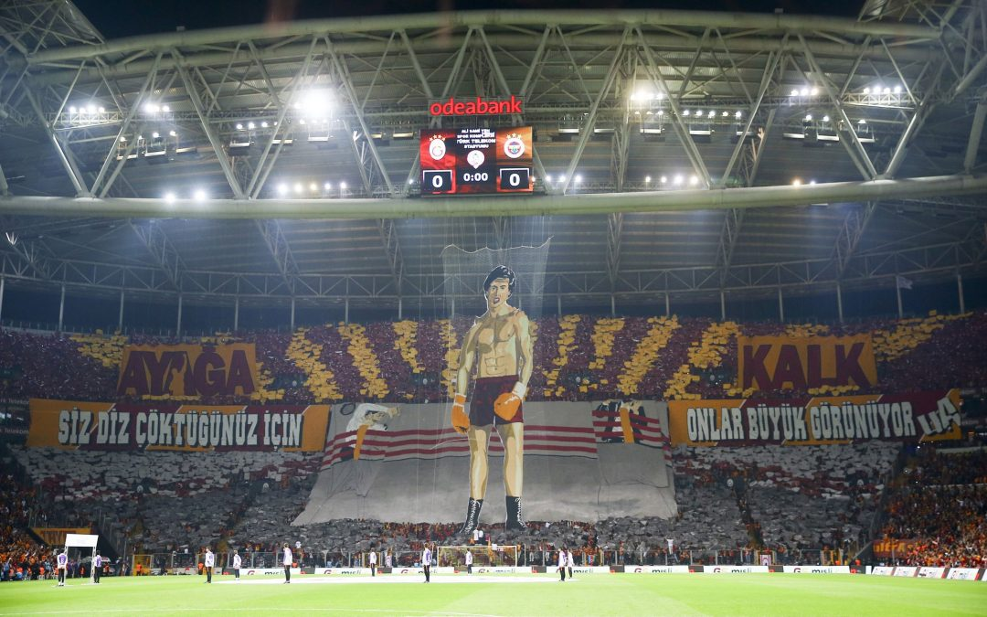 [VIDEO] Terror investigation launched against Galatasaray's Rocky choreography: report