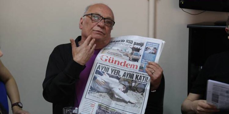 Journalist Tuğrul Eryılmaz given jail sentence over solidarity with pro-Kurdish daily