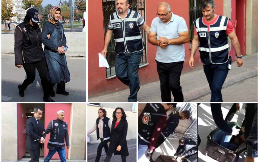 759 detained in operations targeting Gülen movement in past week