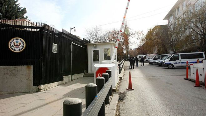 Turkey arrests US Embassy employee, issues arrest warrant for another