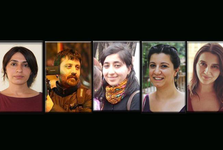 Yet another 5 journalists detained in Ankara