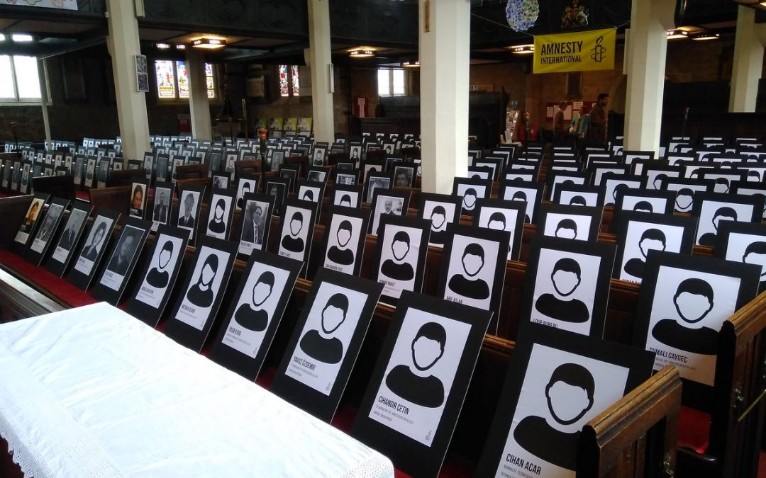 Local Amnesty office launches photo exhibition to support Turkey's 'Silenced Voices'
