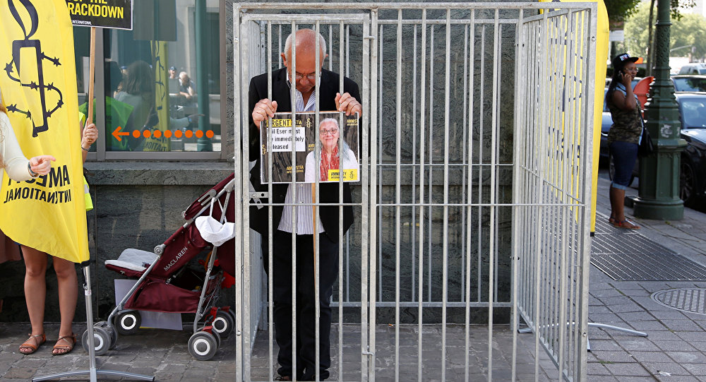 Turkey Amnesty activists risk up to 15 years in jail