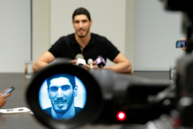 Turkish FM says NBA player Enes Kanter's world tour disrupted in post-coup crackdown