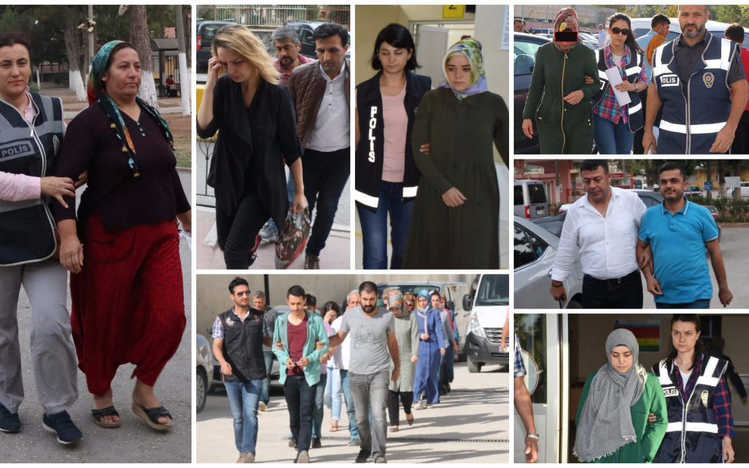 998 people detained over Gülen links in past week: ministry