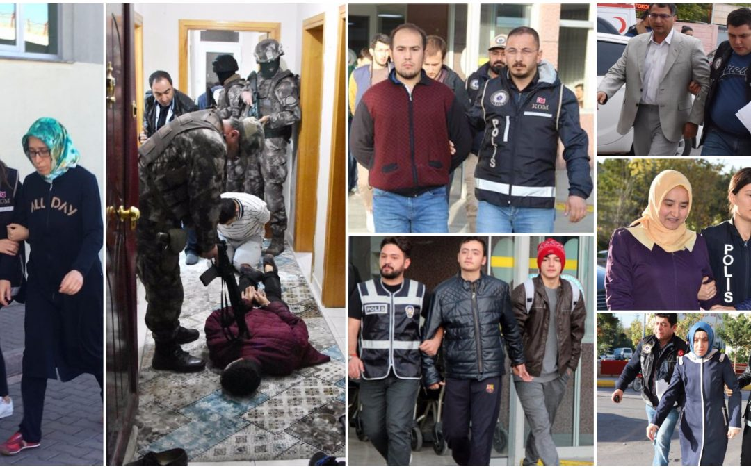 809 people detained over Gülen links in past week: ministry