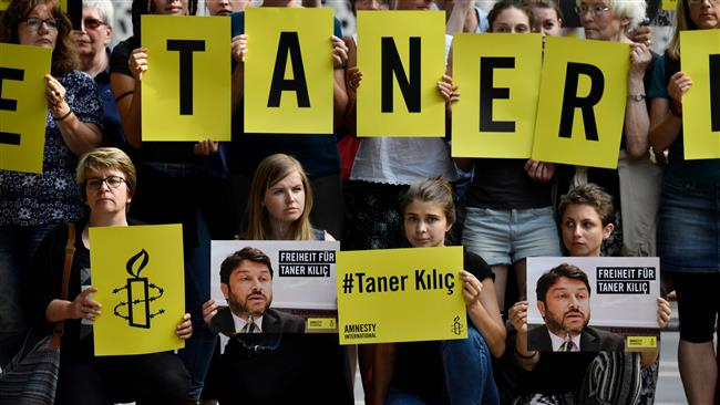Turkish court rules for continuation of Amnesty head's imprisonment