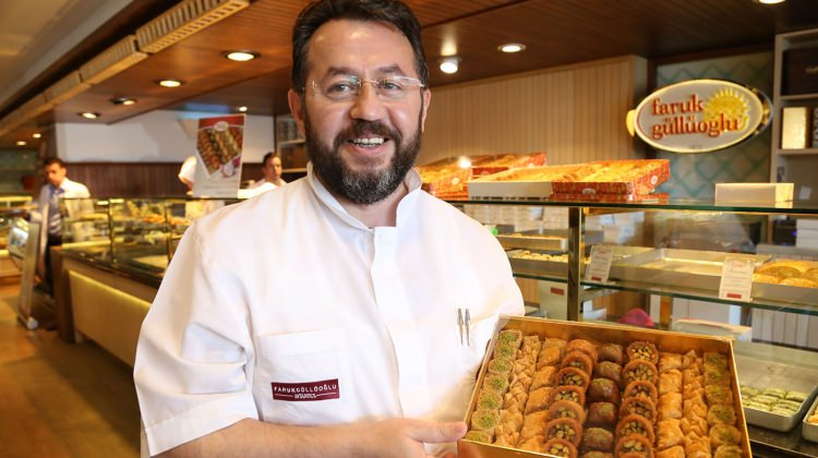 Famous baklava maker says under arrest for 15 months over a book seized at workplace