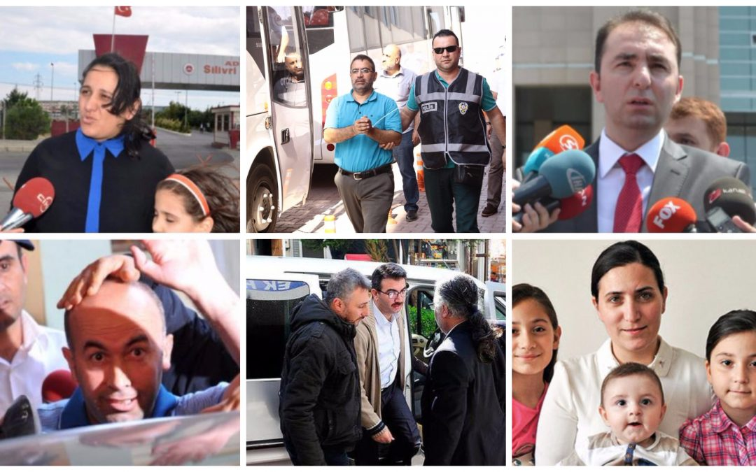 586 people detained over Gülen links in past week: ministry